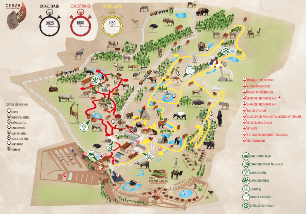 Photo tirée du site du Zoo de Cerza