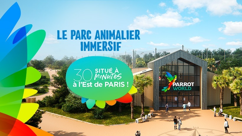 © Parrot World - Parc animalier immersif